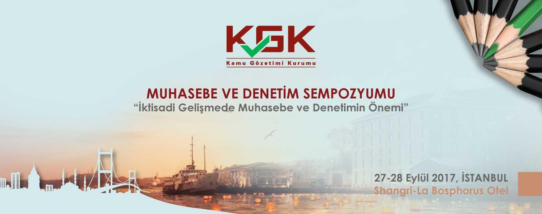Muhasebe ve Denetim Sempozyumu 27-28 Eylül 2017  İstanbul
